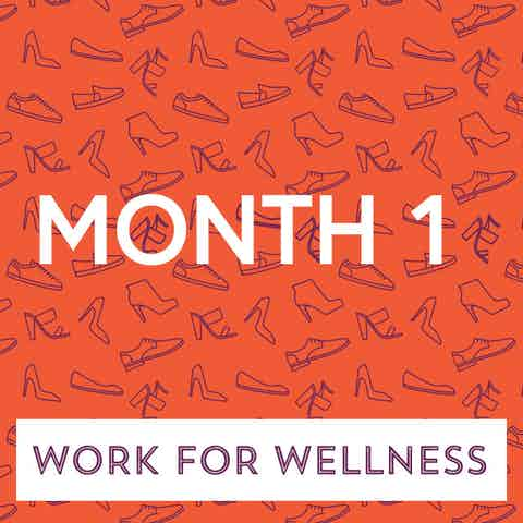 Work for Wellness icon Month 1