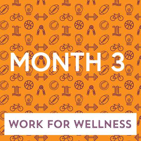 Work for Wellness icon Month 3